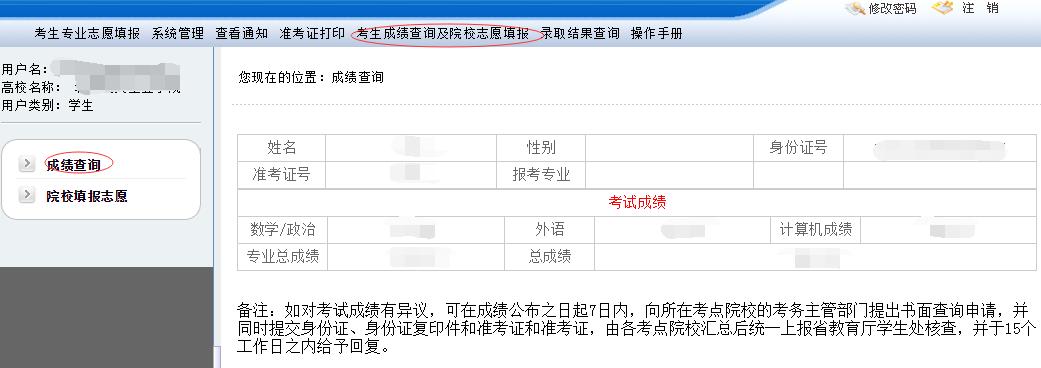 河北省专接本成绩_河北专接本考试成绩查询流程_河北省专接本网站